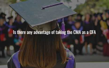 Is there any advantage of taking the CMA as a CFA