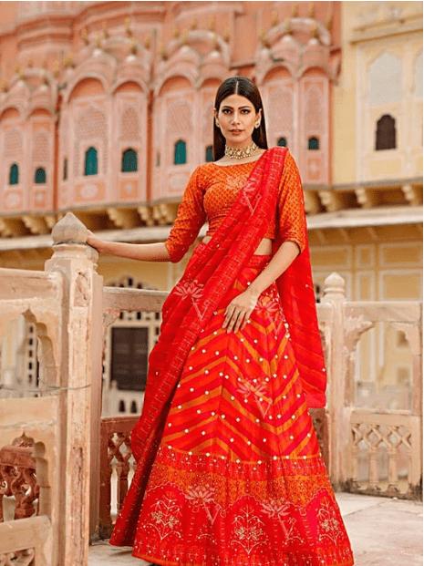 bridal Lehenga Online Style Saree