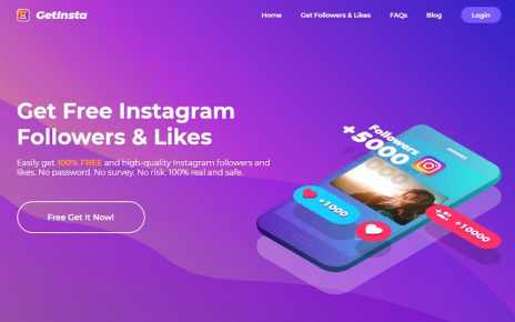 App to Get Instagram Likes and Followers by GetInsta