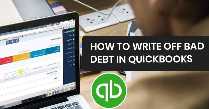 write off bad debts in quickbooks